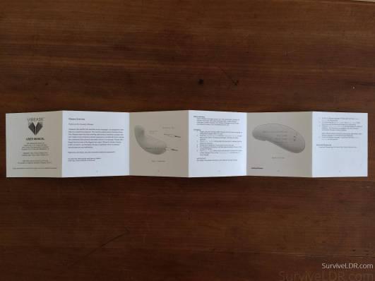 Vibease manual front
